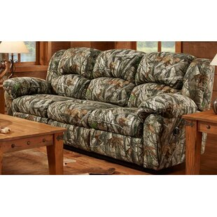 Poteat Double Reclining Sofa Loon Peak