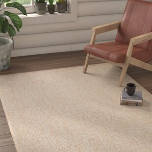 Terre Hand-Loomed White Area Rug By Union Rustic