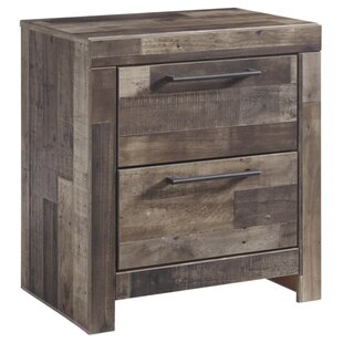 Wilcoxen 2 Drawer Night Stand