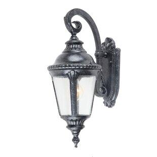 Yosemite Home Decor Columbus 1-Light Outdoor Wall Lantern