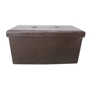 Christchurch Double Folding Tufted Storage Ottoman by Winston Porter