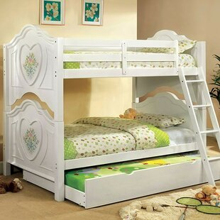 Buy luxury Moffett Twin over Twin Bunk Bed by Zoomie Kids Reviews (2019) & Buyer's Guide