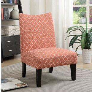 Wrought Studio Finlay Patterned Fabric Slipper Chair