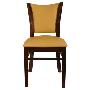 Back Wood Upholstered Dining Chair (Set of 2) by H&D Restaurant Supply, Inc.