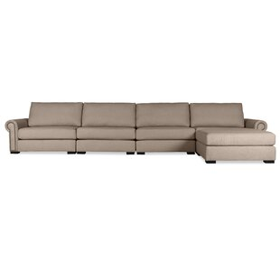 Willia Right Hand Facing Modular Sectional with Ottoman