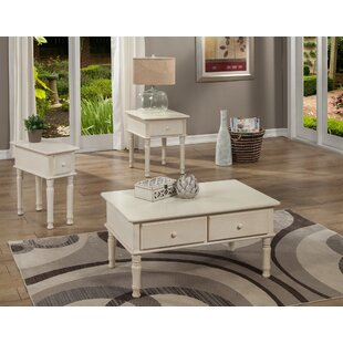 Best Reviews Kinsler 3 Piece Coffee Table Set By Alcott Hill