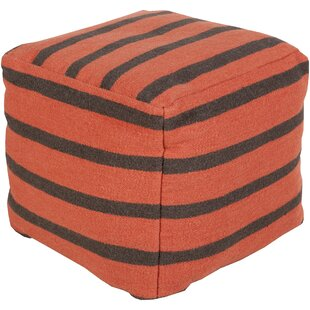 Ira Striped Pouf