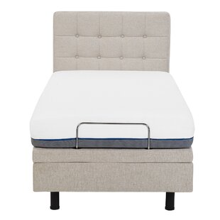 Robards Upholstered Adjustable Bed By Brayden Studio