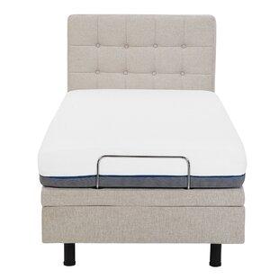 Robards Upholstered Adjustable Bed By Brayden Studio