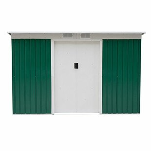 Outsunny Outdoor 9' x 4' Metal Garden Storage Shed