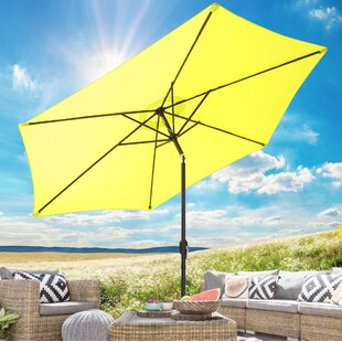 Crump 3m Traditional Parasol By Freeport Park