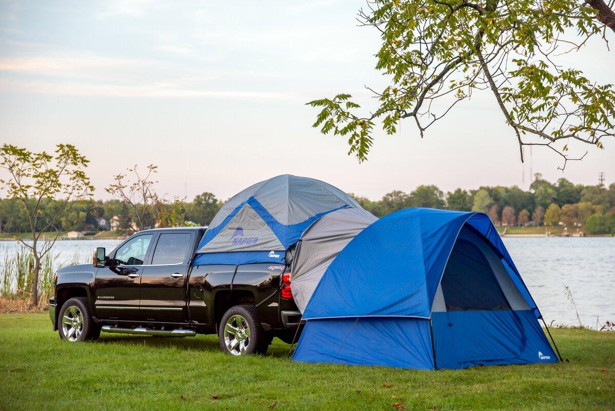Sportz Link Ground 4 Person Tent & Napier Outdoors Sportz Link Ground 4 Person Tent u0026 Reviews   Wayfair