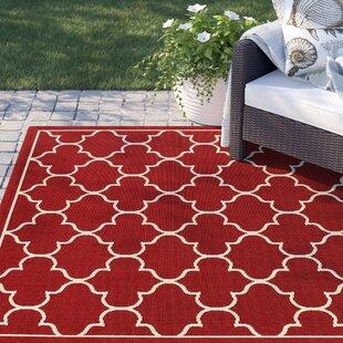 Barlowe Red Indoor/Outdoor Area Rug