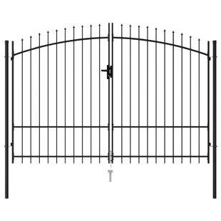 Verdia 10' X 8' (3m X 2.25m) Metal Gate By Sol 72 Outdoor
