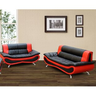 Reviews Feathers 2 Piece Living Room Set by Orren Ellis Reviews (2019) & Buyer's Guide