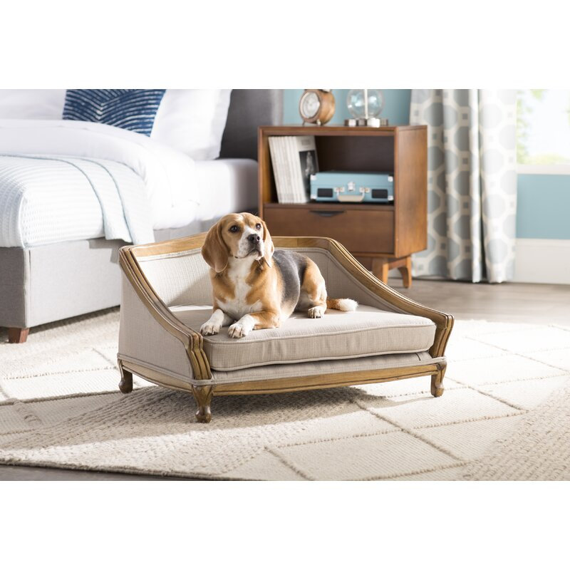 Archie & Oscar Anita Sophisticated Decorative Dog Sofa with Arched ...