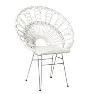 Hadsell Occasional Papasan Chair by Bungalow Rose