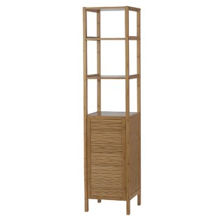 Louver 14 W x 62.5 H Linen Tower by Creative Bath