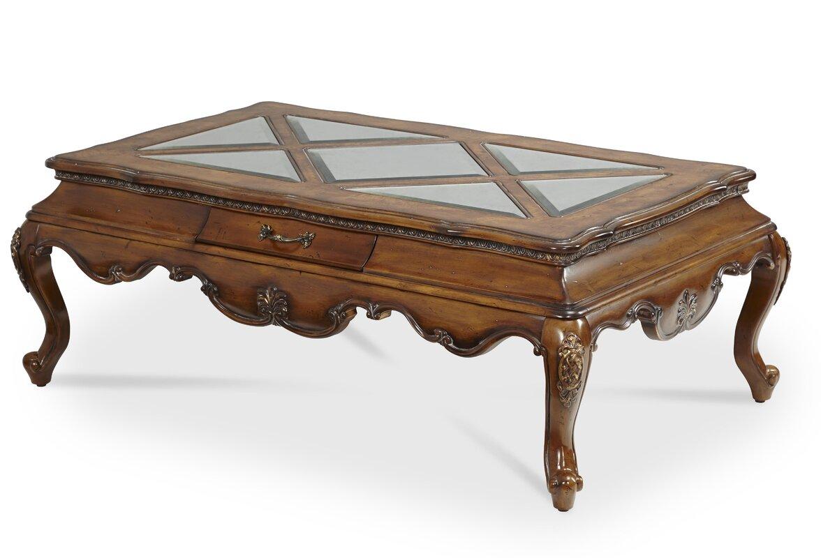 Lavelle Rectangular Coffee Table By Michael Amini Aico