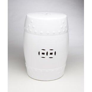 AA Importing Ceramic Drum Stool