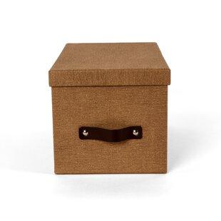 Price Check Media Storage Fiberboard Box By Bigso