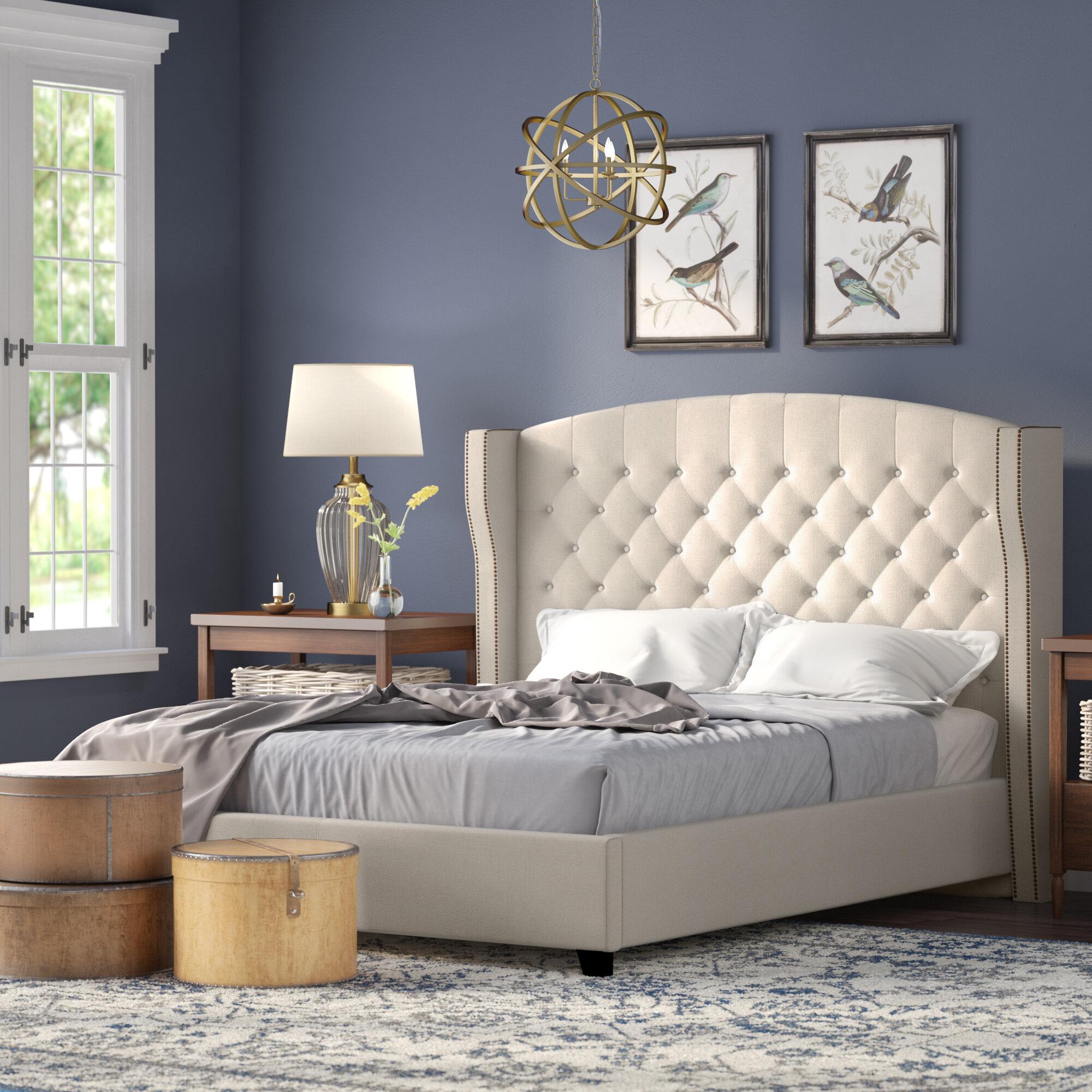 Darby Home Co Arandike Upholstered Platform Bed Reviews Wayfair