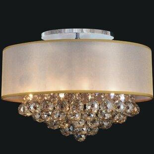 CWI Lighting 9-Light Semi Flush Mount