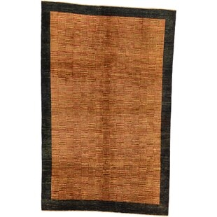 Looking for One-of-a-Kind Nash Hand-Knotted 5'7 x 8'8 Wool Brown/Brown/Black Area Rug By Isabelline