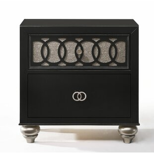Nims 2 Drawer Nightstand by House of Hampton