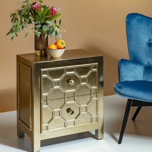 Alhambra 2 Drawer Accent Cabinet By KARE Design