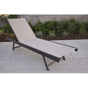 Alpheus Reclining Chaise Lounge by Zipcode Design Great Reviews