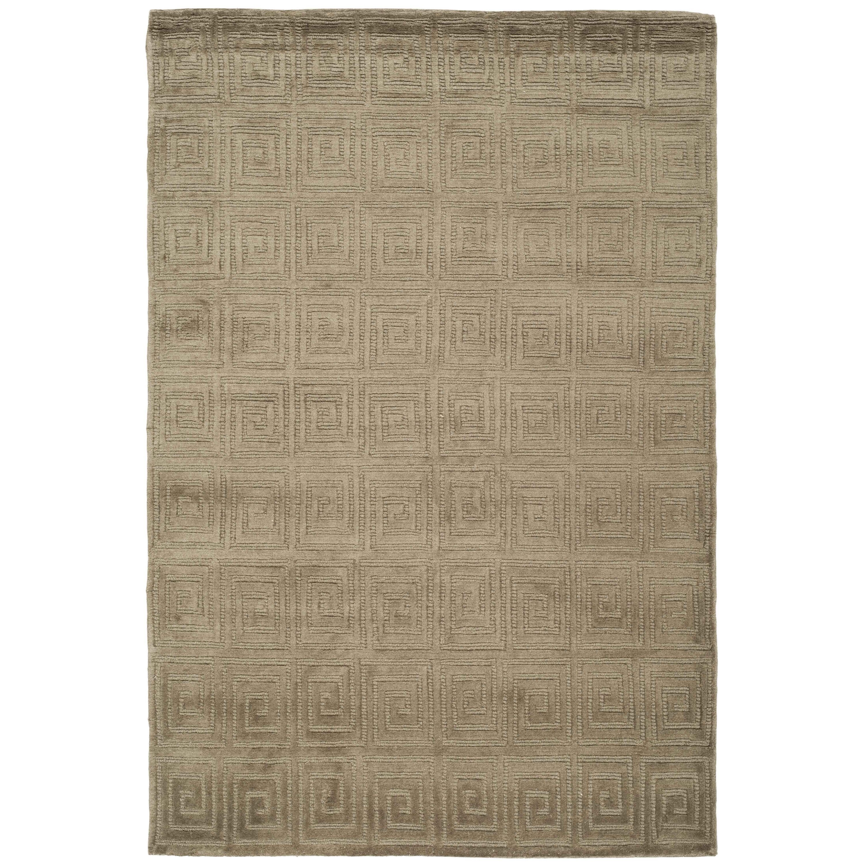 Allmodern private sale dcor design greek key wool olive area rug wayfair