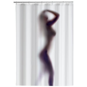 Silhouette Anti-mold Shower Curtain