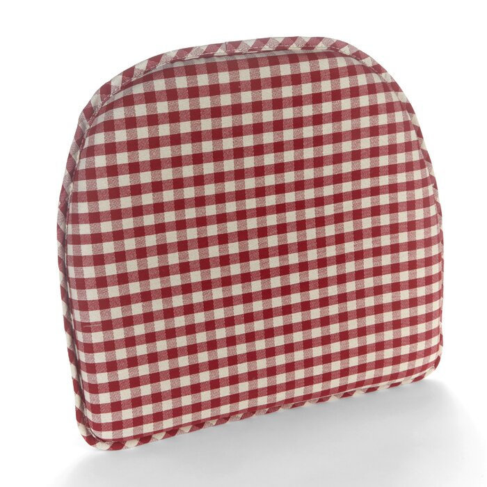 Gingham Gripper Non-Slip Indoor Dining Chair Cushion