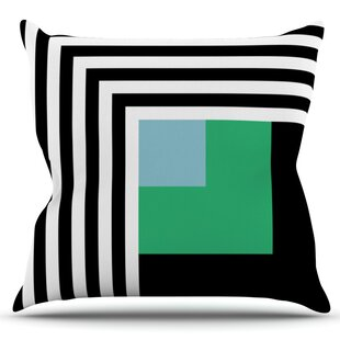 Kutovi By Trebam Outdoor Throw Pillow by East Urban Home