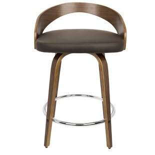 Wright 61cm Swivel Bar Stool (Set Of 2) By George Oliver