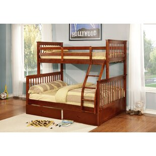 Wang Twin Over Full Bunk Bed with Drawers