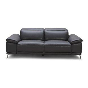 Wade Logan Carnegie Leather Reclining Sofa