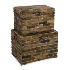 Moreton Wood Trunk Set by IMAX
