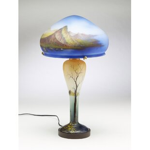 Essary Reverse Painted 19 Table Lamp