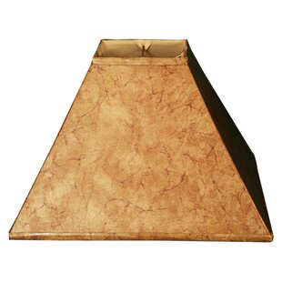 14 Faux Leather Empire Lamp Shade