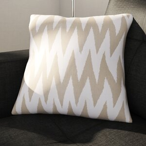 Oretha Chevron Cotton Throw Pillow