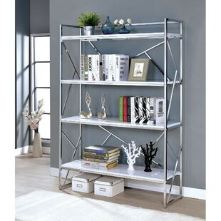 Moree 4 Shelf Metal Etagere Bookcase by Orren Ellis