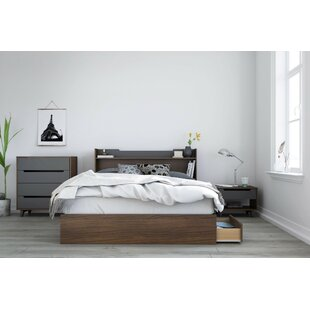 Yokota Platform 4 Piece Bedroom Set