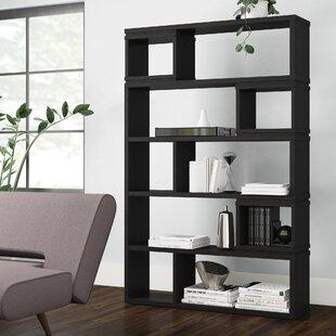 Bateman Carbon Geometric Bookcase by Brayden Studio