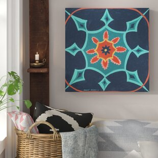 Boho Chic 3 Painting Print On Wrapped Canvas