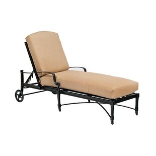 Isla Chaise Lounge with Cushion by Woodard