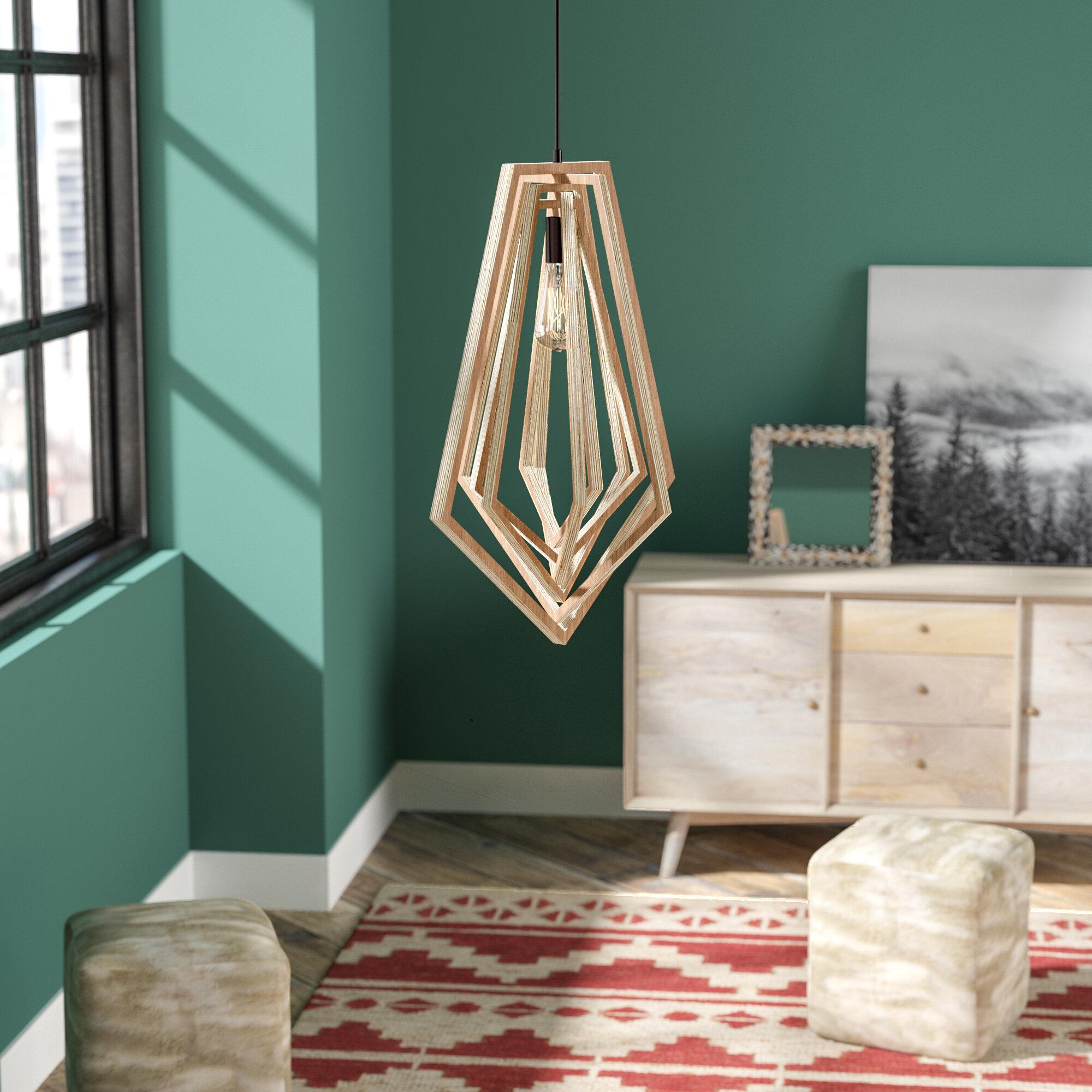 Union Rustic Shelbi 1-Light Pendant & Reviews | Wayfair