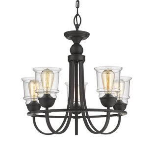 Affordable Tristian 5-Light Shaded Chandelier By Gracie Oaks