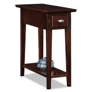 Maddux End Table With Storage by Three Posts